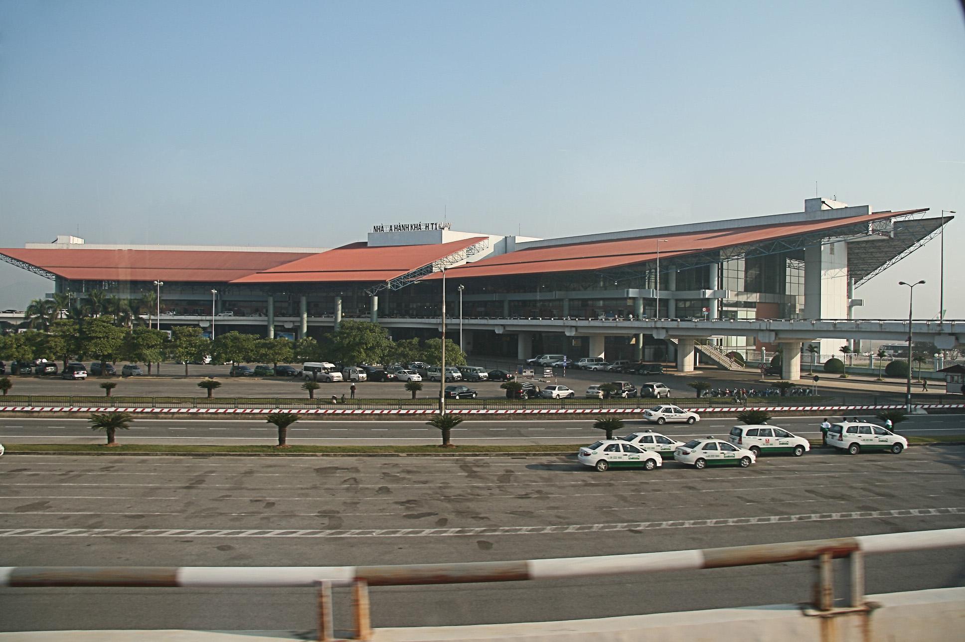 Аэропорт Ханой Ной Бай (Hanoi Noi Bai International Airport).2